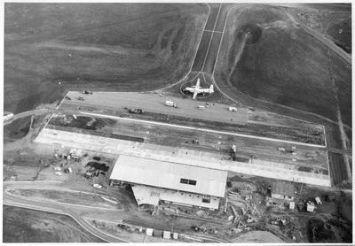 Aerial shots - Hamilton Airport, Rukuhia