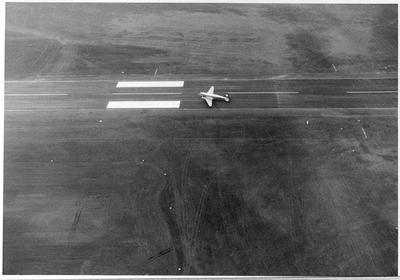 2 Seater plane at Rukuhia