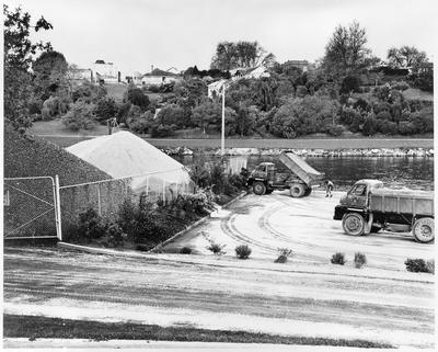 Power boat ramp, Waikato River, Grantham Street