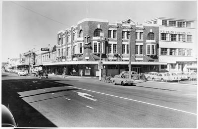 NZCDC building, Cnr London Street and Victoria Street
