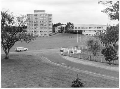 Main block Ruakura Research Centre