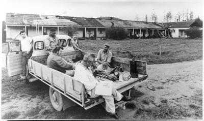Workers at Rotorua