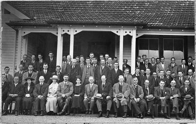 Homestead - portrait including Alf Green and Willie Goodfellow