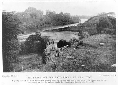 Waikato River and Railway Bridge