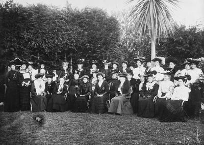 Group of Hamilton women