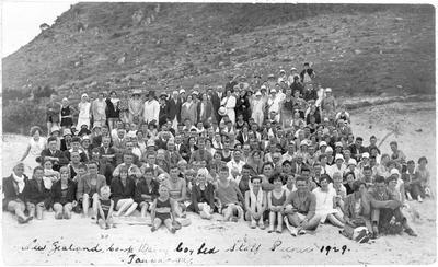 NZCDC Staff picnic, Mount Maunganui