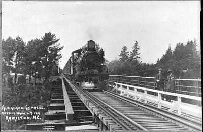 Railway Bridge and Auckland Express
