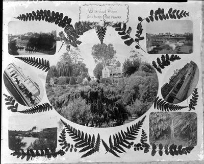 Postcard - 7 Hamilton photos