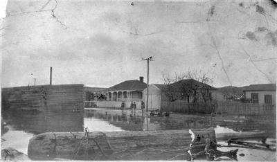 Mercer during flood