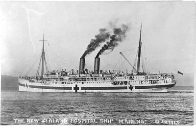 New Zealand Hospital Ship Maheno
