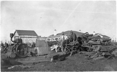 Gordon's farm at Glen Murray - Opatea Station