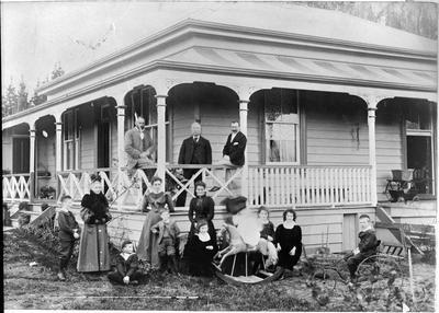 Mrs Gordon home, Ngaruawahia