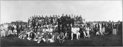 Easter Tournament, Hamilton - L.T.C. courts