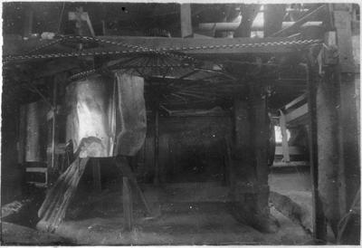 Original prints - interior - Mr Douglas' flax mill - Mercer