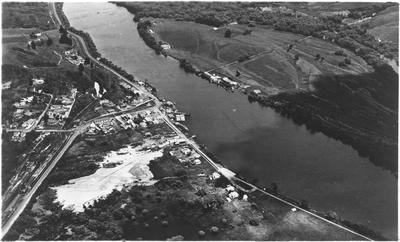 Aerial view of Mercer