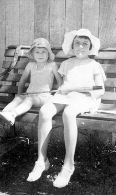 Two children - unknown