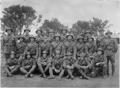 World War 1 group including C Roose ?