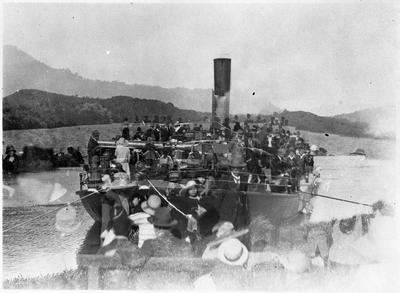 Rawhiti maiden voyage - Mercer