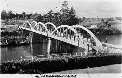 Fairfield bridge Hamilton - under construction