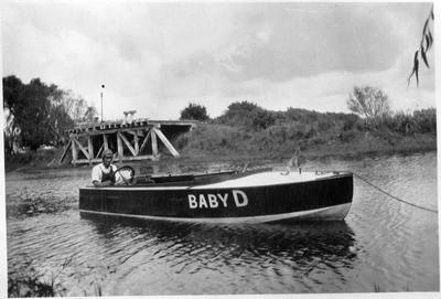 """Baby D"" ? on Waikato River"