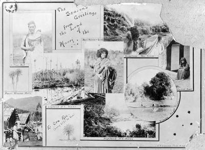 Postcard including Taheretikitiki