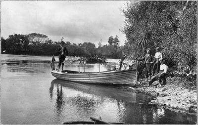 C Roose's first boat
