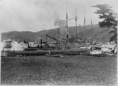 Port Waikato wharf