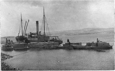 SS Arapawa, Tarawera and Erin at Waikato Heads