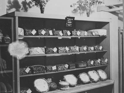 Breads and cakes displayed at the Waikato Winter Show