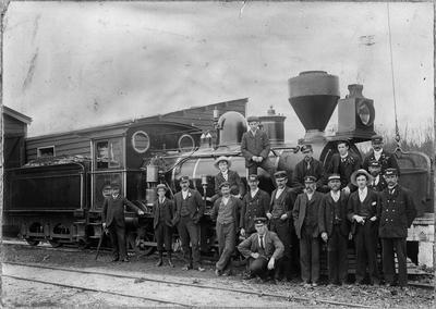 Locomotive 259 at Mercer