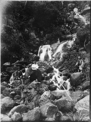 Elpper Falls, Port Waikato