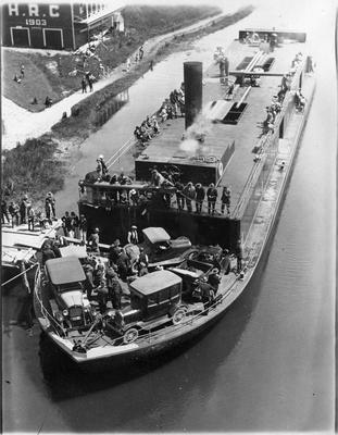 Maiden voyage of Rawhiti PS at Ferrybank, Hamilton
