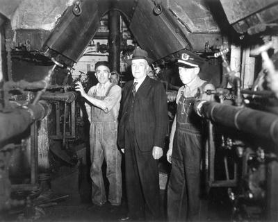 Engine room - C Roose and others