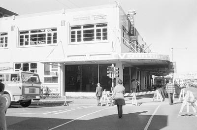 Valintines store after the Bryce Street Market fire