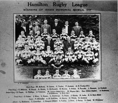Hamilton Rugby League Team