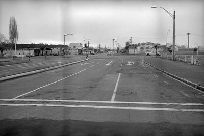 Intersection of Heaphy Terrace, Brooklyn Road and O'Neill Street