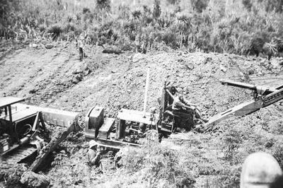 Huntly mining - open caste mine