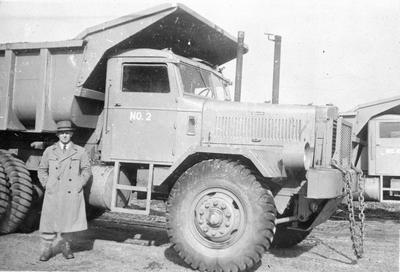 Huntly mining - dart tip truck