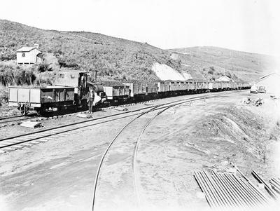 Loco and coal trucks - Rotowaro ?