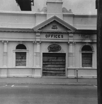 Bisleys Offices on the corner of Ward and Alexandra Streets