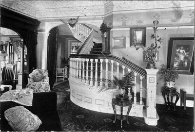 Greenslade House - interior, staircase