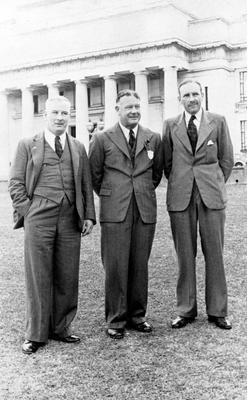 Nolan, Stewart, Atchley, RNZA Reunion