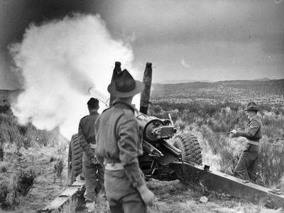 Artillery Training, Waiouru