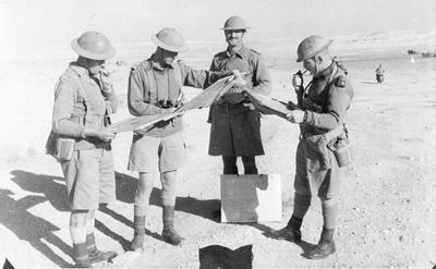 Egypt 1940 - officers