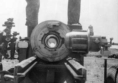 SS Artillary - looking down the barrel