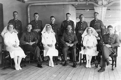 "NZ Transport ""Empress of Canada"" Medical staff"