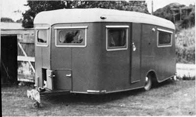 Caravan built by Stan Nolan