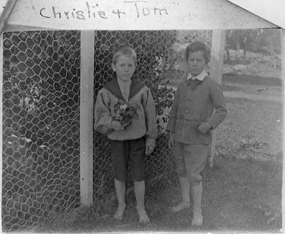 Farrer children - Christie and Tom