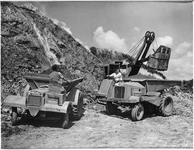 Huntly Brick - Clay mining