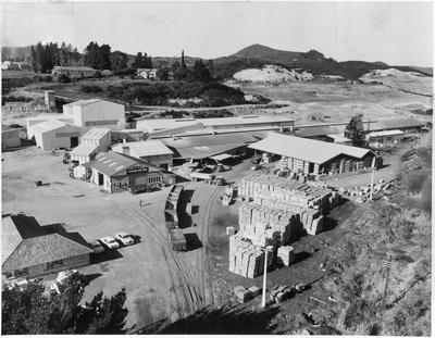 Huntly Brick - General view of works